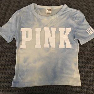 VS PINK Tie Dye Crop Shirt XS